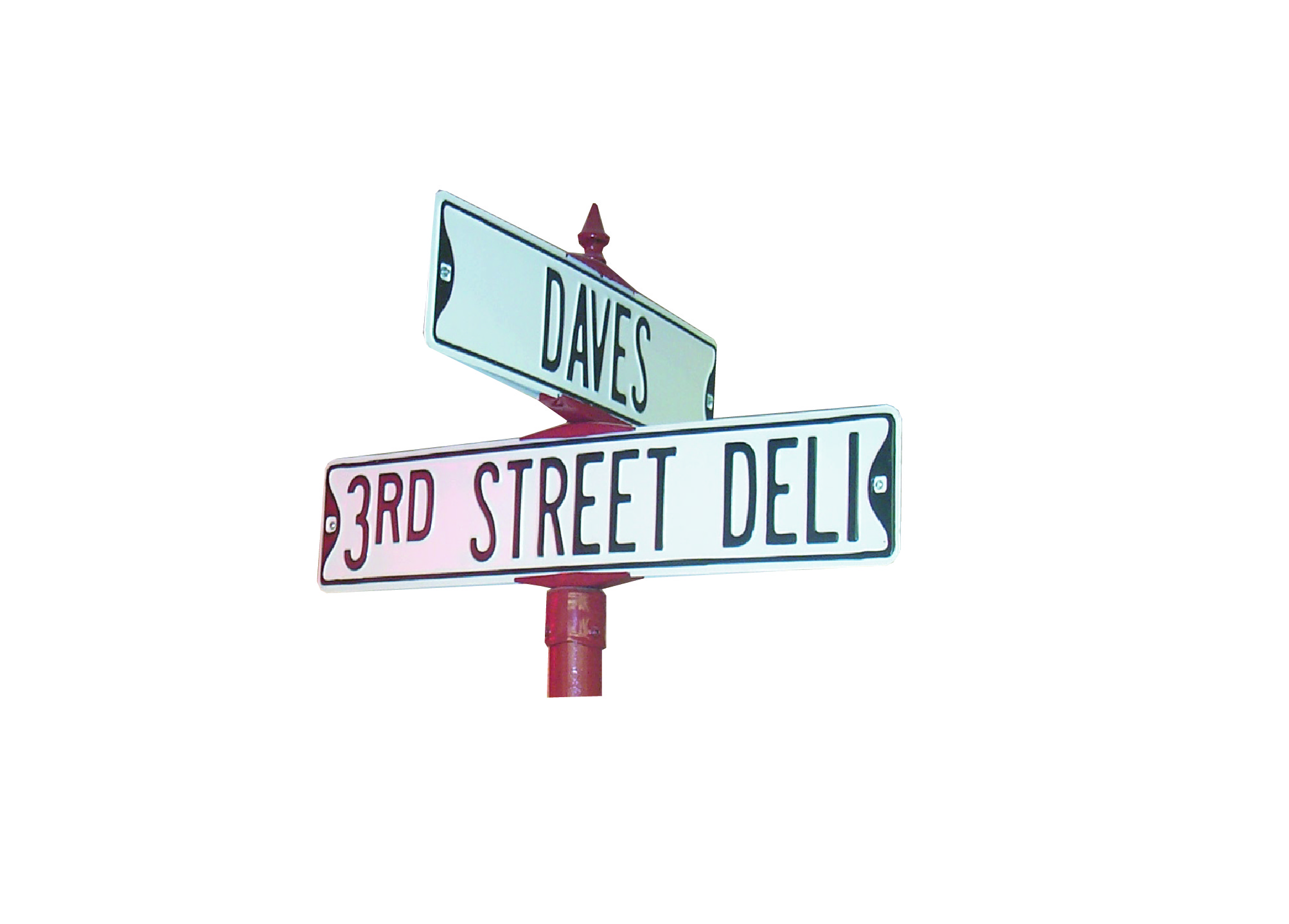 3rd St. Deli Sign